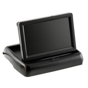 """PS043 - 4.3"""" flip up monitor by Parksafe Automotive Ltd"""