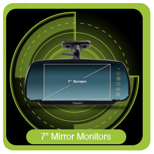 "7"" Mirror Monitors"