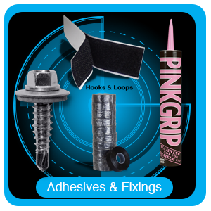 Adhesive Products, Fixings & Cutting