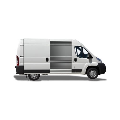 Image of a van - find out what products are available for vans.