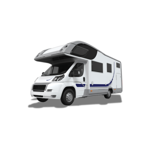 Image of a motorhome - find out what products are available for motorhomes and caravans.